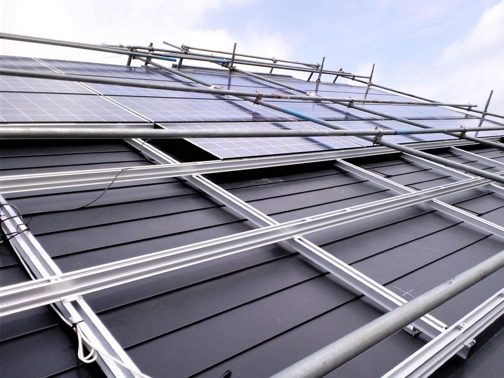 太陽光 取り付け工事