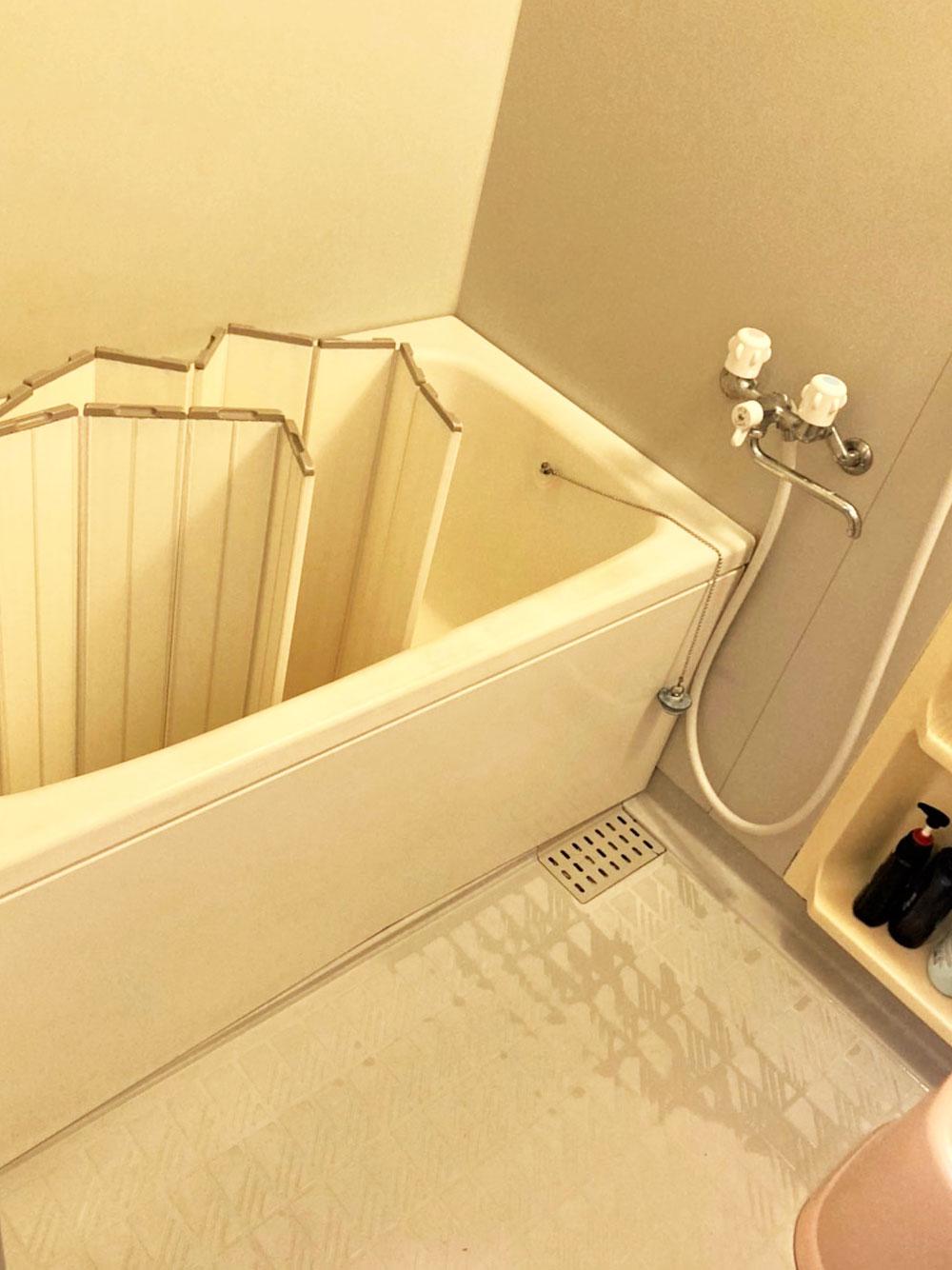 浴室のリフォーム 施工前